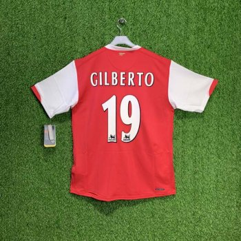 ARSENAL 06/07 (H) S/S JSY 146769-614 w/ NAMESET (#19 GILBERTO)