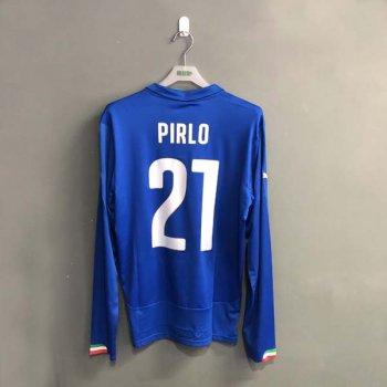 PUMA ITALIA 14/15 (H) L/S SHIRT 744290-01 w/ NAMESET (#21 PIRLO)
