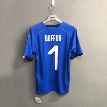 PUMA FIGC ITALIA 17/18 (H) SHIRT 752281-01 w/ NAMESET (#1 BUFFON)