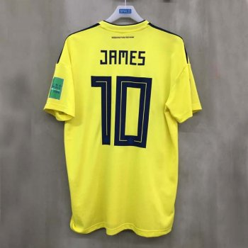 ADIDAS FCF 18 (H) JSY CW1526 w/ NAMESET (#10 JAMES) + WORLDCUP BADGE