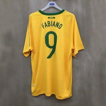 BRAZIL 10 (H) S/S 369250-703 w/ NAMESET (#9 FABIANO)