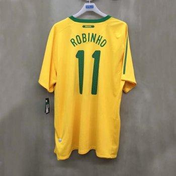 BRAZIL 10 (H) S/S 369250-703 w/ NAMESET (#11 ROBINHO)