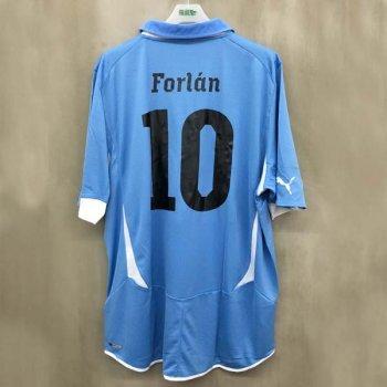 URUGUAY 10 (H) S/S FANS 736889-22 w/ NAMESET (#10 FORLAN)