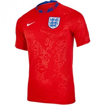 NIKE ENGLAND 20/21 PRE MATCH S/S TOP CD2577-600