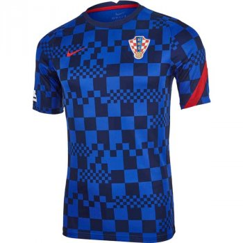 NIKE CROATIA 20/21 PRE MATCH S/S TOP CD2576-452