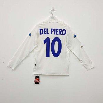 KAPPA ITALY 2000 (A) L/S JSY w/ NAMESET (#10 DEL PIERO)