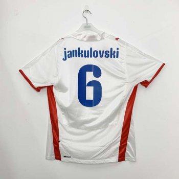 CZECH REPUBLIC 08 (A) S/S JSY w/ NAMESET (#6 JANKULOVISKI)