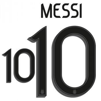 ARGENTINA 20 (H) BLK #10 MESSI (PRE-ORDER)