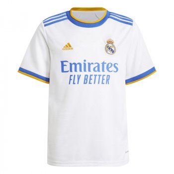 REAL MADRID 21/22 HOME YOUTH JERSEY GR3994