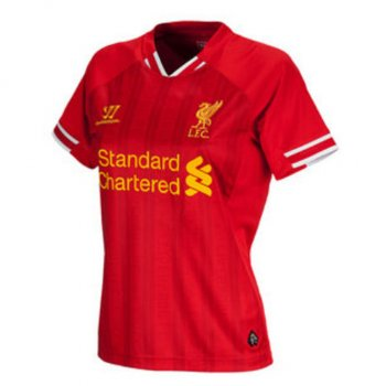 Warrior Liverpool 13/14 (H) Women S/S WSTW303HR