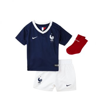 Nike National Team 2014 World Cup France (H) Kids Set S/S 577922-410