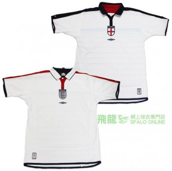 Umbro National Team 2003 England (H) S/S