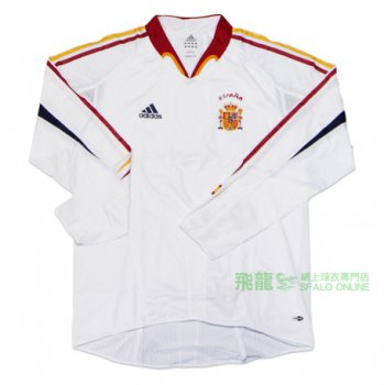 Adidas National Team 2004 Spain (A) L/S