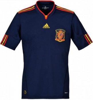 Adidas National Team 2010 Spain (A) S/S