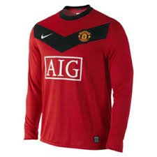 Nike Manchester United 09/10 (H) L/S 355092-623