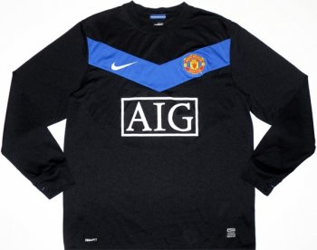 Nike Manchester United 09/10 (A) L/S