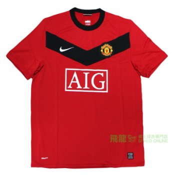 Nike Manchester United 09/10 (H) S/S