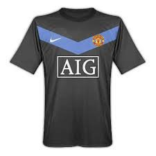 Nike Manchester United 09/10 (A) S/S