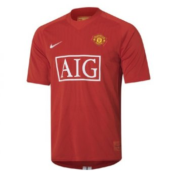 Nike Manchester United 07/08 (H) S/S