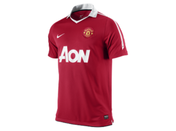 Nike Manchester United 10/11 (H) S/S 382469-623