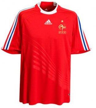 Adidas National Team 2008 France (A) S/S