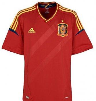 Adidas National Team 2012 Spain (H) S/S X10937