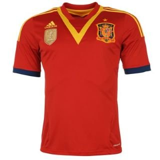 Adidas National Team 2013 Spain (H) S/S  X53272 (no nameset)