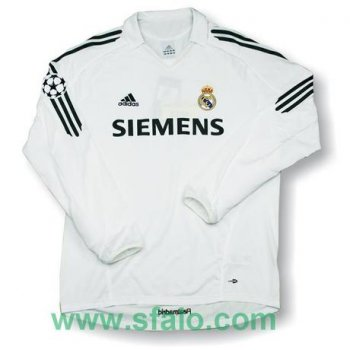 Adidas Real Madrid 05/06 (H) L/S