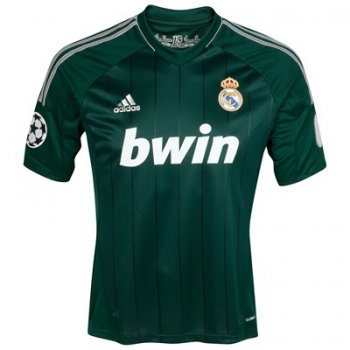 Adidas Real Madrid 12/13 UCL (3rd) S/S X53540