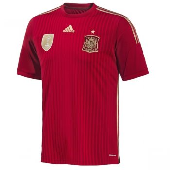 Adidas National Team 2014 World Cup Spain (H) Youth S/S G85231