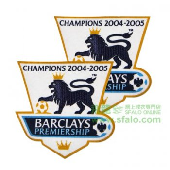 2004/2005 BPL Champions Badge (Chelsea) 2PCS