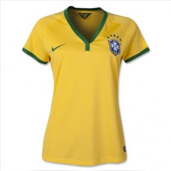 NIKE BRASIL NATIONAL TEAM 2014 WORLD CUP (H) S/S WOMEN 575305-703