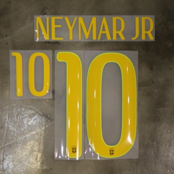 Brasil National Team 2014 World Cup (3rd) Letters and Numbers