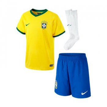 Nike National Team 2014 World Cup Brazil (H) S/S Kid Set 575295-703