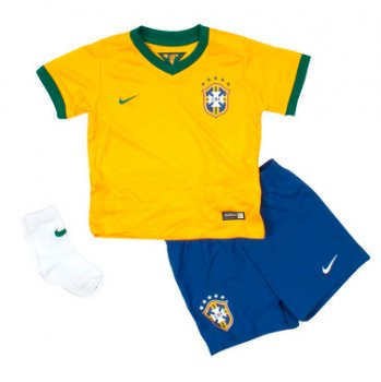 Nike National Team 2014 World Cup Brazil (H) S/S Kid Set 575303-703