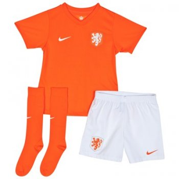 Nike National Team 2014 World Cup Netherlands (H) S/S Kidset 578406-815