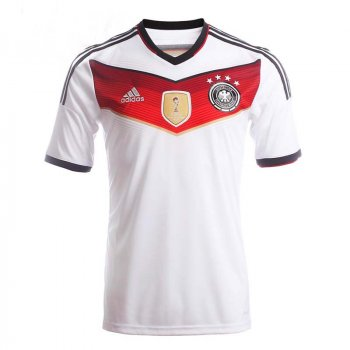 Adidas Germany National Team 2014 World Cup Winning Shirt 4 STAR (HOME) S/S M35022