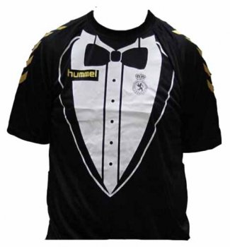 Hummel Cultural y Deportiva Leonesa  2014-15 S/S TUXEDO LIMITED EDITION SHIRT
