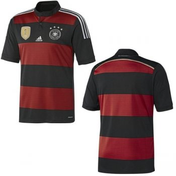Adidas Germany National Team 2014 World Cup Winning Shirt (A) S/S M35024 (4 STAR)