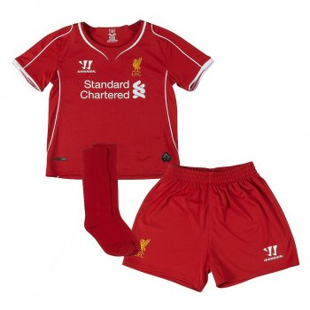 Warrior Liverpool 14/15 (H) S/S Kids WSTI400