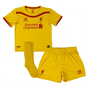 Warrior Liverpool 14/15 (A) S/S Kids WSTI402