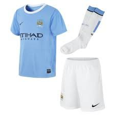 Nike Manchester City 13/14 (H) S/S Little Boy Set  574855-489