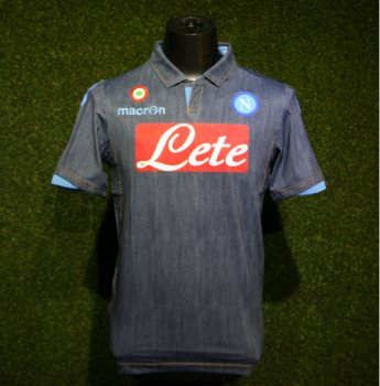 Macron Napoli 14/15 (A) Authentic Match S/S 58063806