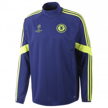Adidas Chelsea 14/15 UEFA Champions LEague Training Top L/S F84146