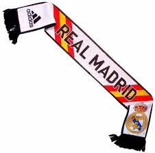 Adidas Real Madrid 14/15 3S SCARF WHT/BK M60184