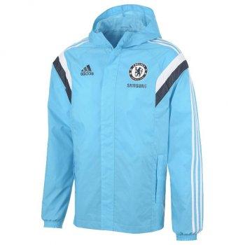 Adidas Chelsea 14/15 AW Jacket BU/WHT M37133