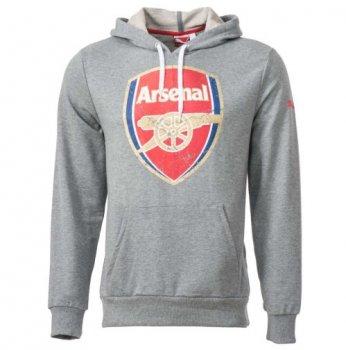 Puma Arsenal 14-15 Fans Hoodie (GREY) 746479-13