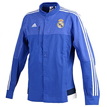 Adidas Real Madrid 14/15 Anth Jacket BU/WHT/NVY M36393