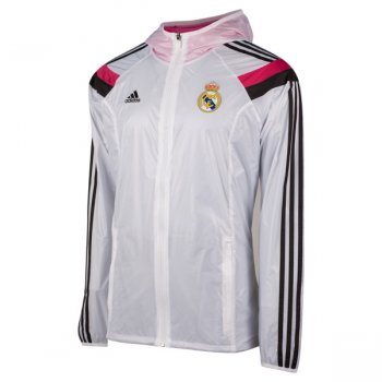 Adidas Real Madrid 14/15 Anthem Jacket WHT/BK/PK F85659
