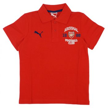 Puma Arsenal 14/15 Fan Polo Red 747106-01